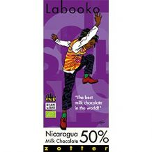 Zotter Labooko Milk Chocolate 70g